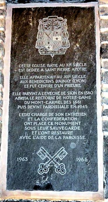 Inscription XIe siècle