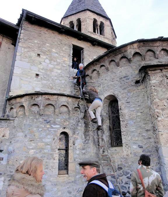 Saint-Pierre-de-Clages : visites de l'église, du clocher et du Prieuré