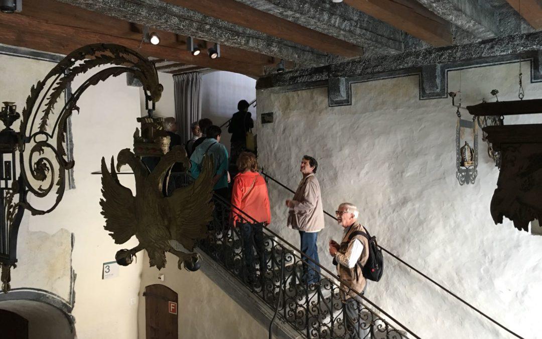 Visites des châteaux d'Aigle et de la Roche à Ollon