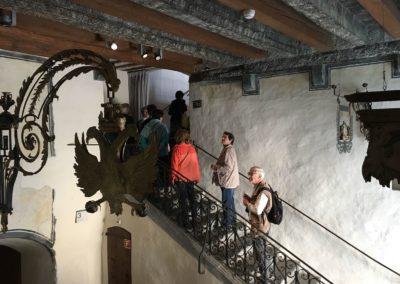 Visite du château d'Aigle
