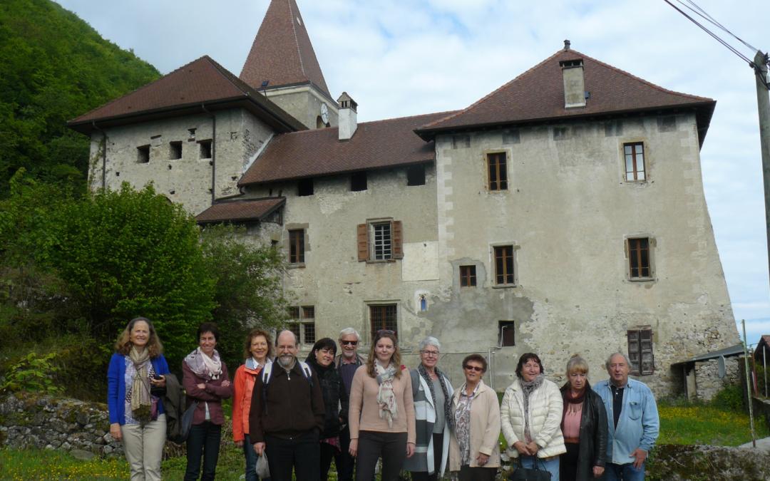 Visite du prieuré de Meillerie avec l'auteure Sidonie Bochaton