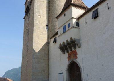 Château d'Aigle, entrée