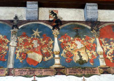 Château d'Aigle, salle des gouverneurs