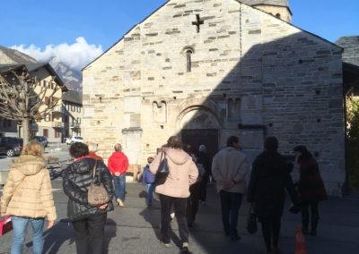 Arrivée à Saint-Pierre-de-Clages